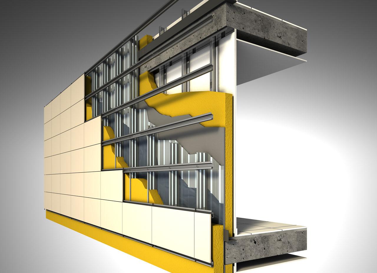 Favenk fachada ventilada - Fachada ventilada piedra natural ...